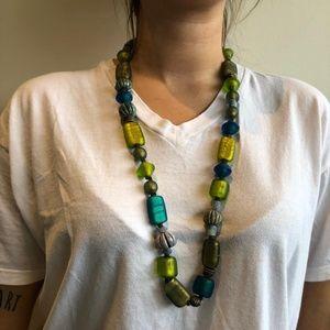 Yves Saint Laurent Glass Beaded Necklace